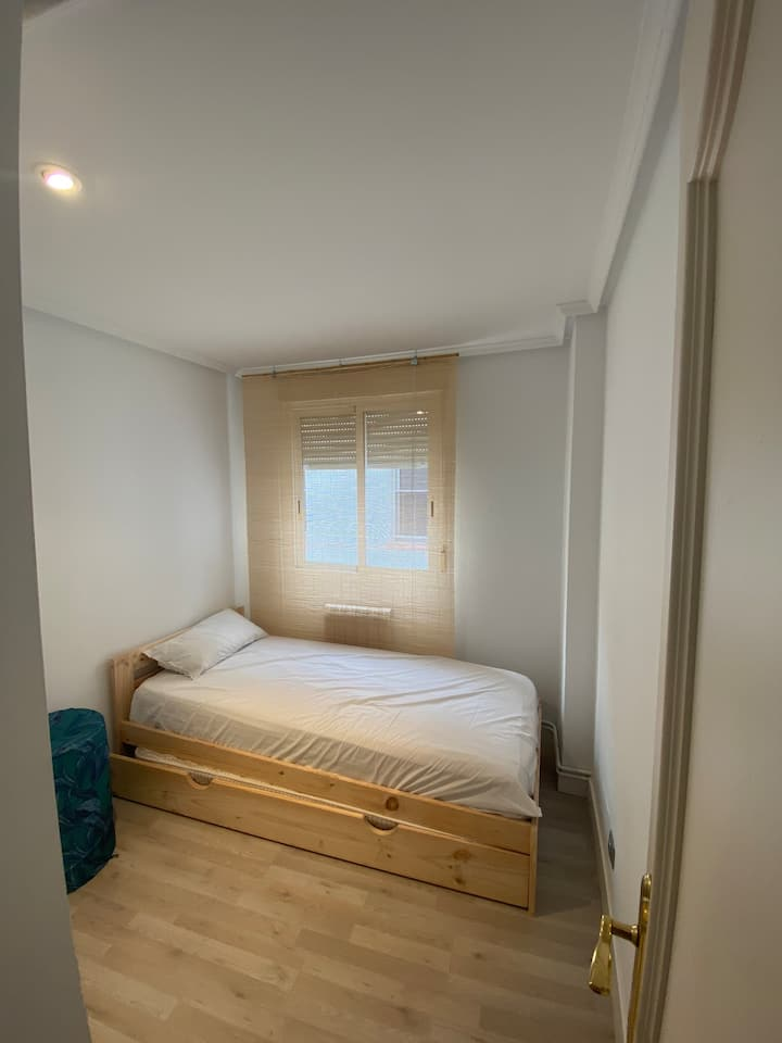 Habitación 2 camas individuales en pleno centro