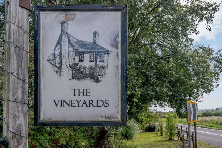 The Vineyards Annexe is surrounded by a vineyard