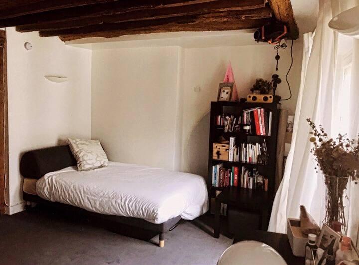 Grand Studio dans le Marais