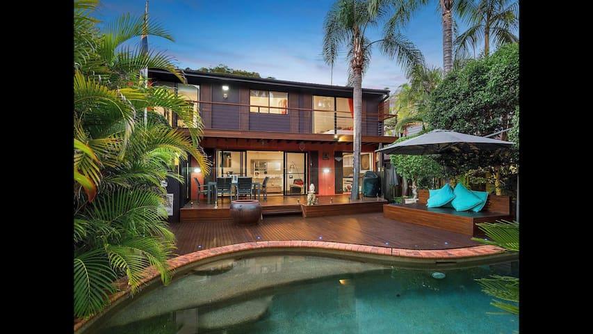 Bali Style - Northern Beaches Retreat - Sydney