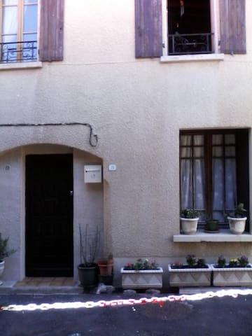 Maison de village atypique - Caudiès-de-Fenouillèdes - Reihenhaus