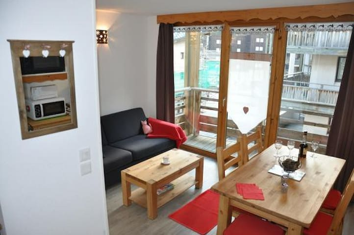 Appartement duplex, 41 m2, La norma - Villarodin-Bourget - Lägenhet