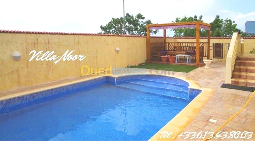Villa NOOR piscine sans vis a vis  Ghazaouet 13 DZ
