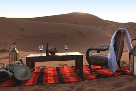 Une nuit dans le désert de Zagora en BB