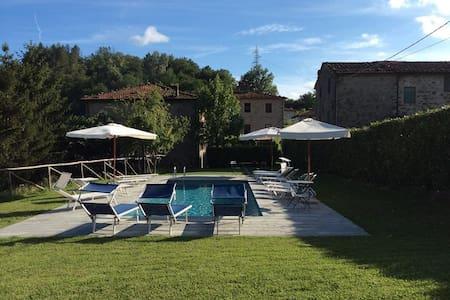 La Spilla holiday house + pool - Wohnung