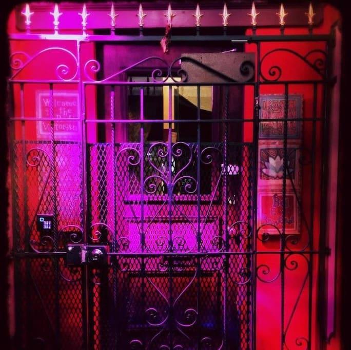 Red Vic front door