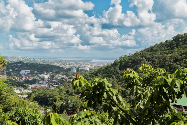 Quiet home on the Hill overlooking Port of Spain