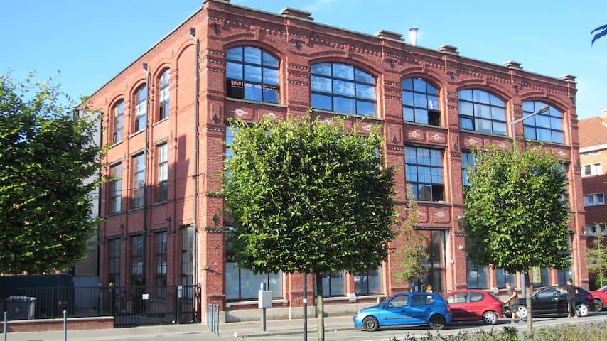 Industrial loft in downtown Roubaix - Рубе - Квартира