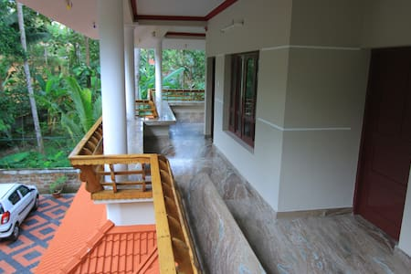 Silent Villas, North cliff, Varkala