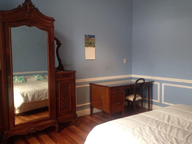 Perfect double room in antique patio flat - Buenos Aires - Apartemen