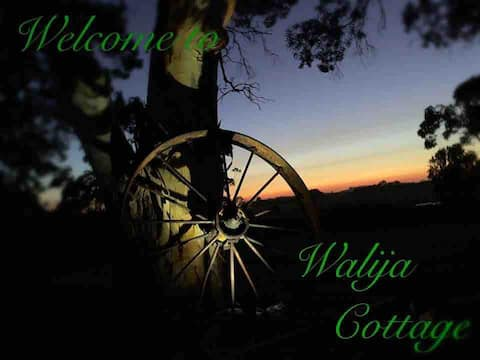Walija Cottage 'Everyone's Friend' welcomes you.