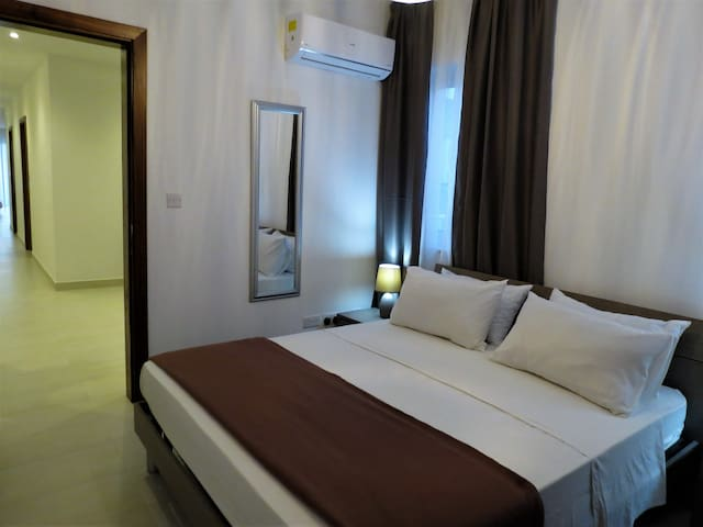 Spare bedroom, airconditioned