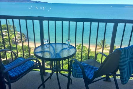 Beachfront balcony, The Strand, Pool, Free parking