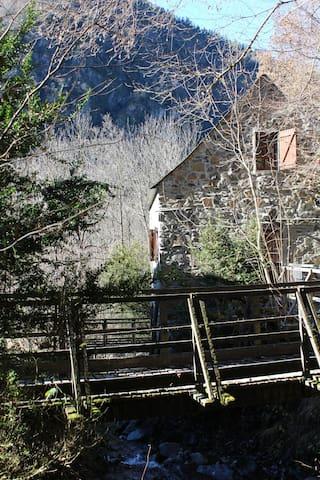 Grange INSTINCT LOURON avec chiens de traîneau