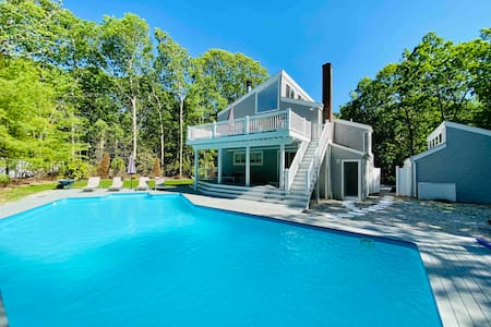 Mint, Modern and Beautiful in East Hampton Woods