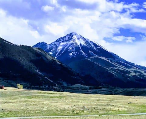 Emigrant Pk Hütte in der Nähe von Yellowstone & Chico.Haustiere ok
