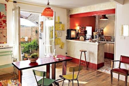 Chambre calme dans bel appartement lumineux charme - Montélimar