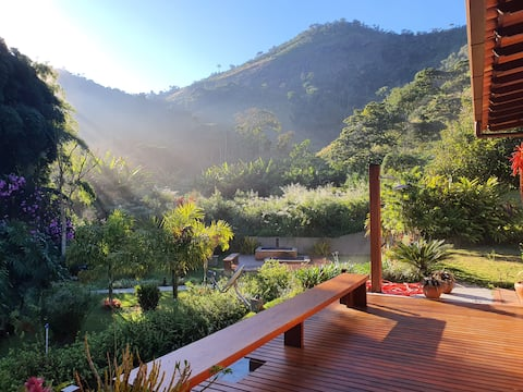 Ecological paradise in the mountains of Rio.