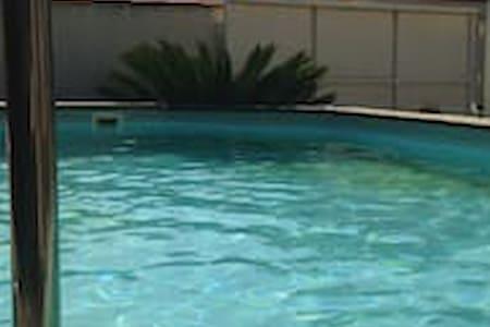 Chambre dans villa avec piscine à 10 mn de la mer - Boujan-sur-Libron