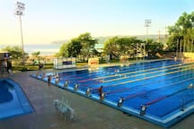 Mineral water Olympic Swimming pool - 5 min by bus from the apartment