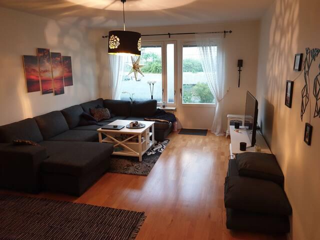 Låsbart rum i delad lägenhet