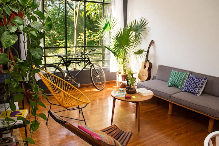 Apartment in the jungle - Quetzal - Mexico City