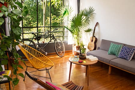 Apartment in the jungle. - Mexico City