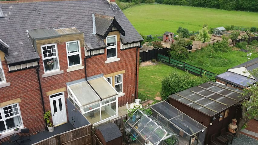 3 bed home situated in a Northumberland hamlet