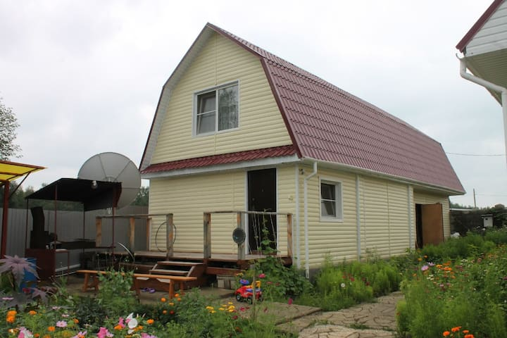 Гостевой дом, на озере Банное.(ГЛЦ Металлург) - Kusimovo - Guesthouse