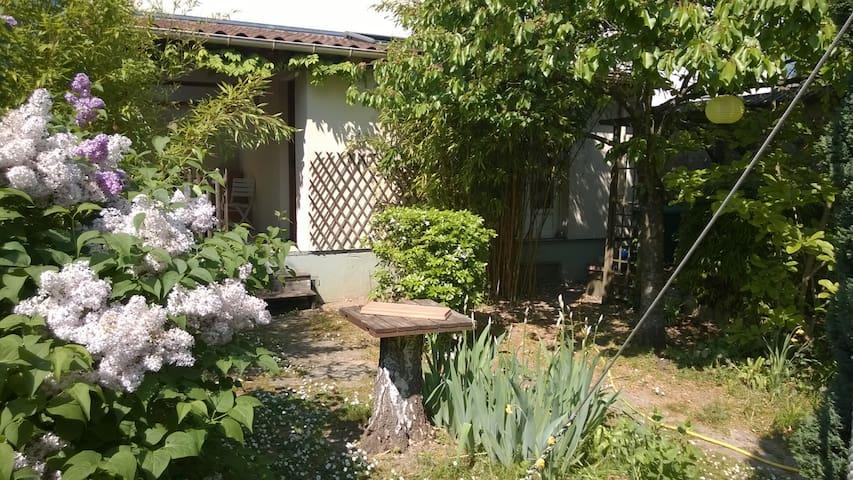 Studio indépendant dans jardin arboré proche Paris - Champigny-sur-Marne - Chalet