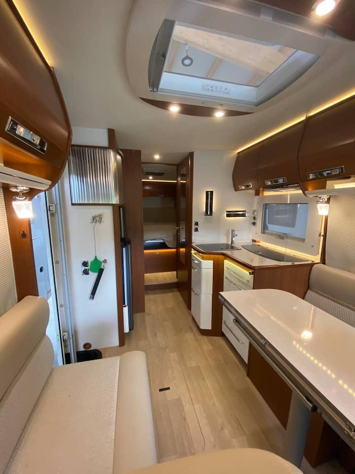 Luxurious and Modern Rapido Campervan/RV
