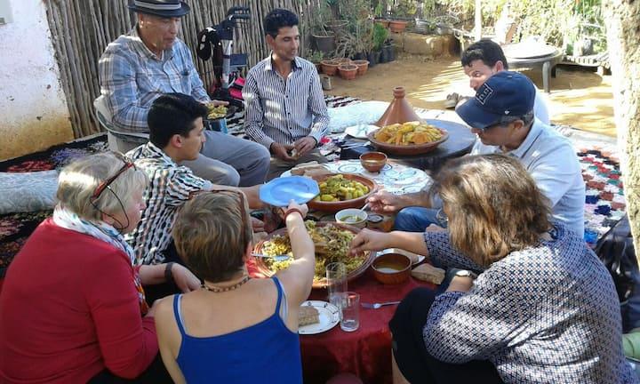 maison ecologie permaculture partage