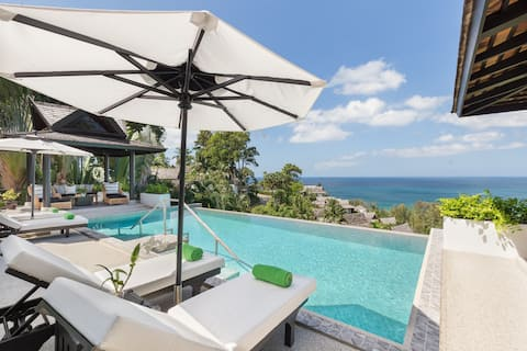 Surin Beach Villa 5 bed Newly Renovated,Accessible
