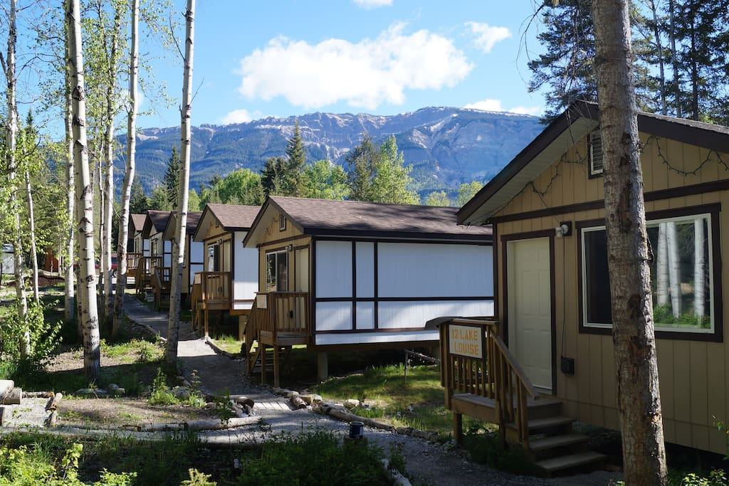 Mountain view cabins golden cabin c chalet in affitto a for Cabine in affitto a victoria bc