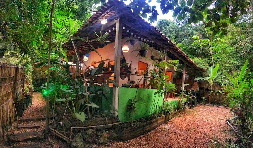 🌟Chalé Amazônia Tikuna na Floresta a 50m da praia💚
