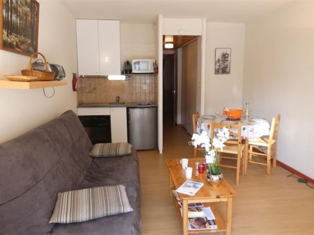 T2 4 pers 5 couchages SAINT LARY SOULAN