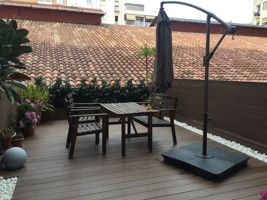 lovely terrace (refurbished)
