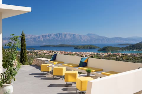 Lefkada Serenity - Independent with great sea view
