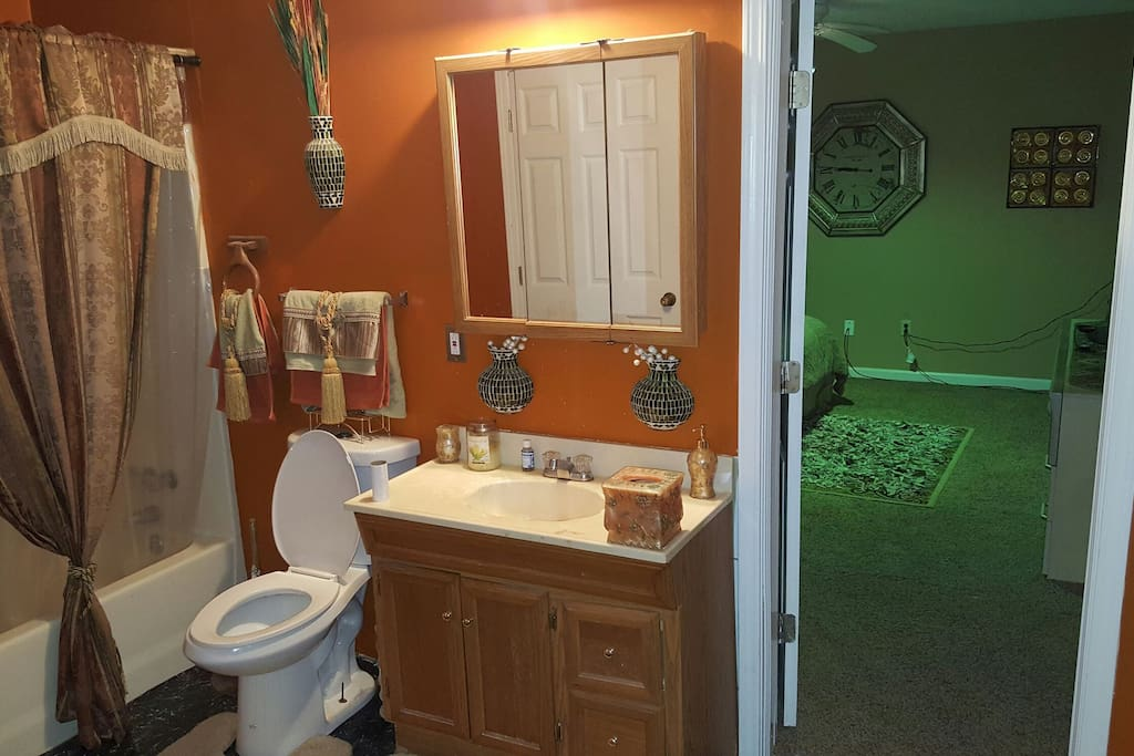 Private Bathroom! (Bedroom entry)