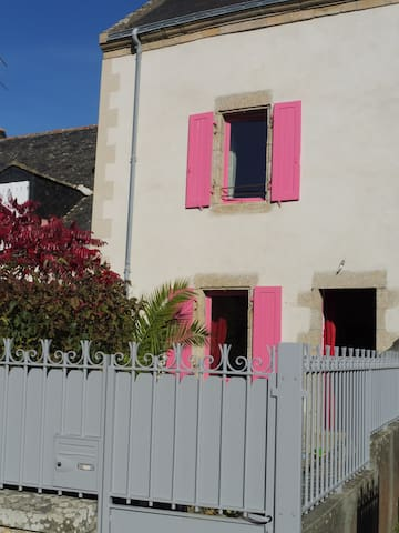 Maison de bourg à 200 m plage - Île-d'Arz