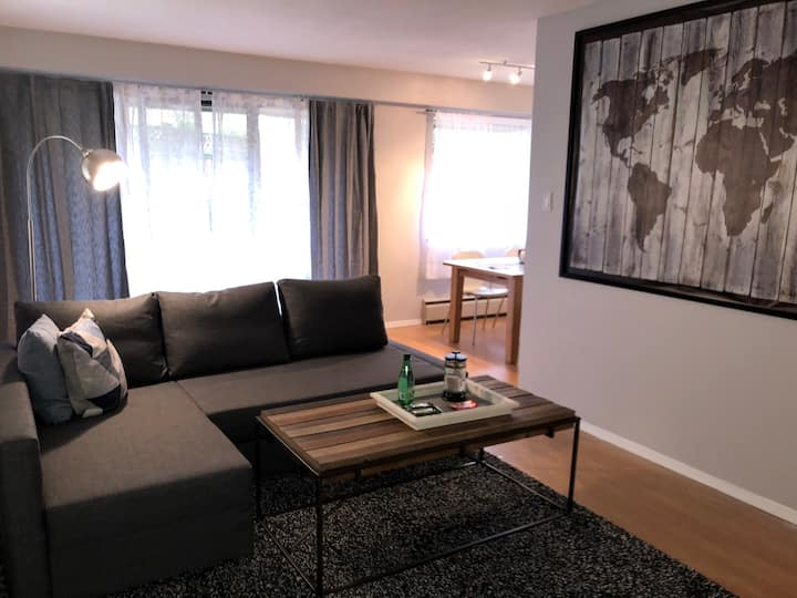 Central & Renovated 1 Bed 1 Bath In Vancouver