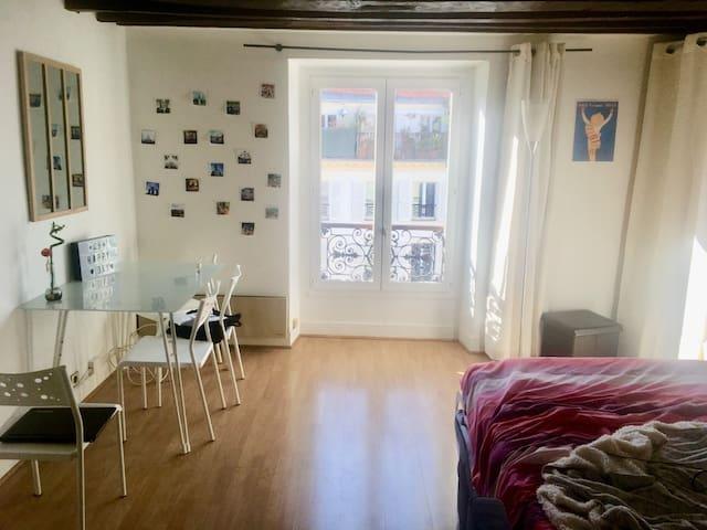 Studio paris 10 - centre de Paris