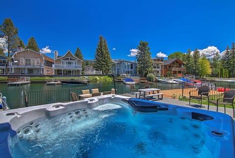 Waterfront Lake Tahoe/Heavenly Hub: Private U-Dock