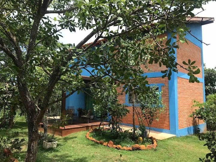 Casa Azul - Cerrado de Gaia