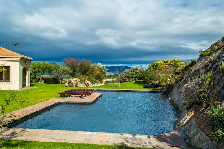 Blue Crane Villa at Barton Vineyard and Villas