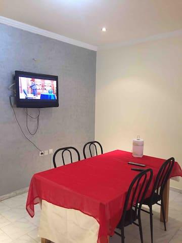 Appartement 3 pièces boulevard Mohamed 6