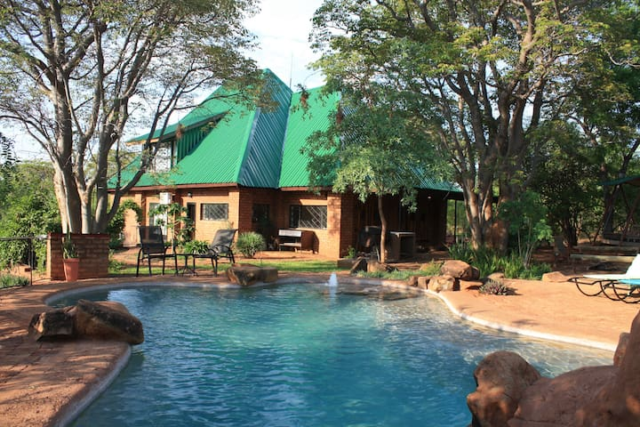 Bongwe Guest house and Camp, Livingstone.