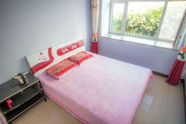 承德围场可馨家庭公寓三居室大床房 - Chengde Shi - Huoneisto