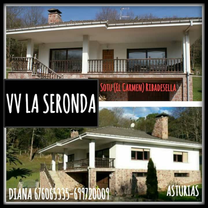 VIVIENDA VACACIONAL LA SERONDA. MAR Y MONTAÑA