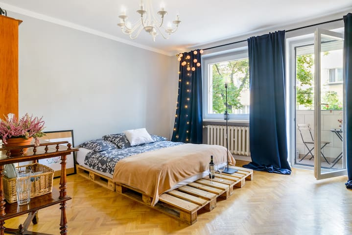 Cosy apartament near City Center - Poznań - Leilighet